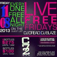 "Friday November 8th: ""Live Free"" Fridays w/ Free..."