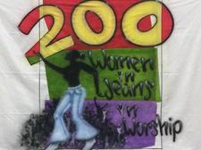200 Women In Jeans In Worship - New Church Down The Way Ministries logo