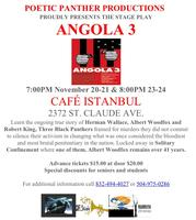 Angola 3 The Stage Play