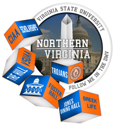 Virginia State University Alumni Association-Northern Virginia Chapter Inc. logo