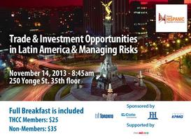 Trade & Investment opportunities in Latin America &...