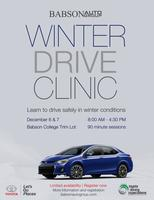 Winter Drive Clinic