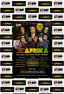 LONDON-AFRICAN DANCE PARTY Events logo