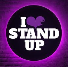 I LOVE STAND UP logo