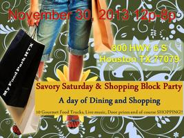 Savory Saturday & Shopping Block Party