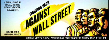 FIGHTING BACK AGAINST WALL STREET