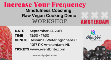 Increase Your Frequency: Mindfulness Coaching + Raw...