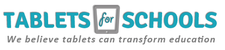 Tablets for Schools  logo