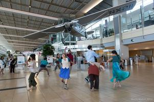 transcenDANCE at the Airport!
