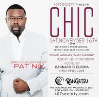 407SOCIETY Presents CHIC