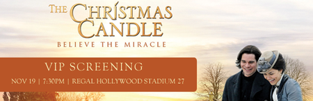 VIP Screening of The Christmas Candle