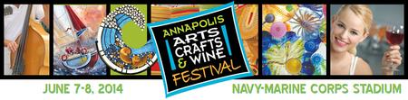 Exhibitor Fees for Annapolis Arts Crafts & Wine Festival