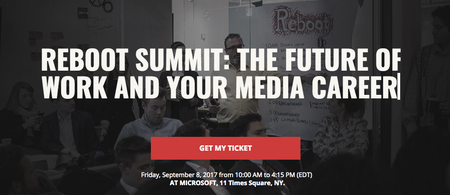 Reboot Summit: The Future of Work and your Media Career