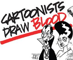 Cartoonists Draw Blood Anthology Show - Opening...