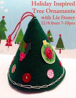 Etsy Meet & Make Fiber Salon: Holiday Inspired Tree...