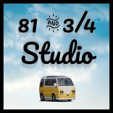 81 & 3/4 Studio logo