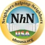 Laurie Petersen at Neighbors-helping-Neighbors USA...