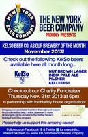 Holiday Fundraiser with the Hartley House & KelSo Beer...