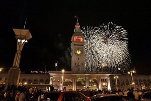 SENS New Years Eve 2014 | Front Row VIEW of San Francisco's...