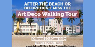 The Official Art Deco Walking Tour by the Miami Design ...