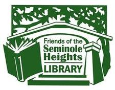 Friends of the Seminole Heights Library logo