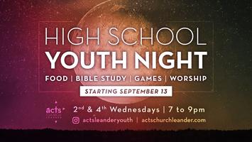High School Youth Night