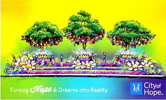 City of Hope - Volunteer Rose Parade Float Decorating
