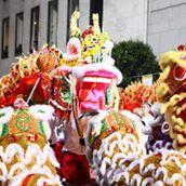 Chinese New Year Festival & Parade logo