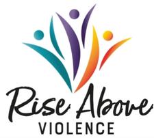 Rise Above Violence logo