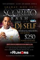 Scorpio Live with DJ Self at Rumors