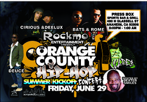 ROCKMO ENERTAINMENT PRESENTS......The Orange County...