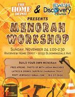 Menorah Workshop @ The Home Depot