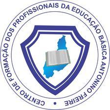Centro de Formação dos Profissionais da Educação Básica Antonino Freire logo