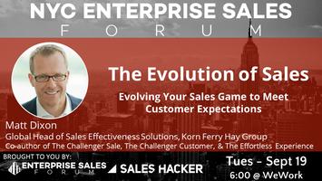 Evolution of Sales w/ Matt Dixon