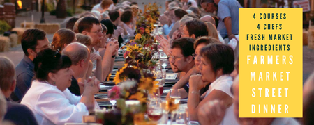 2nd Annual Friends of the Market Street Dinner by DSI