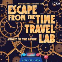 [Jan] Escape from the Time Travel Lab - Real Escape Room SF...