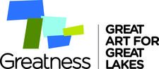 Great Art for Great Lakes Powered by Greatness: The Great Lakes Project logo