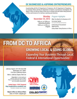 2nd Annual DC to Africa Business Symposium: Growing...