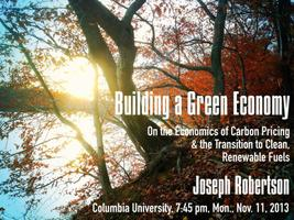 Building a Green Economy - Columbia University