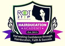 Hairducation Academy & ROOT2TiP Haircare logo