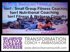 B Fit & Nutritious w' Bella Joy Lawson logo