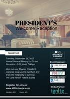 MPI Atlantic Canada Chapter President's Welcome...
