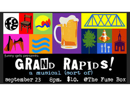 logo funny girls presents grand rapids! a musical (sort of) [saturday the fuse box grand rapids at highcare.asia