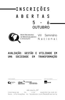 VIII Seminário Nacional da RBMA logo