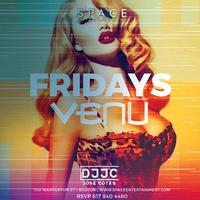 VENU FRIDAY 12.8 l JOSE COTES & EDGARDO ZAMBRANO
