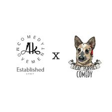 AK Comedy logo