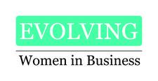 Rebecca Robertson Evolving Women in Business Network logo