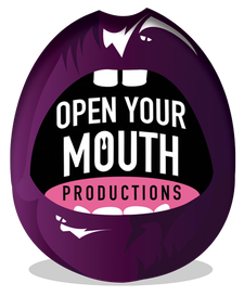 OPEN YOUR MOUTH PRODUCTIONS logo
