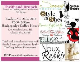Thrifting Atlanta November Thrift and Brunch