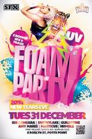 NEW YEARS EVE UV FOAM PARTY @ SFX/TRASH